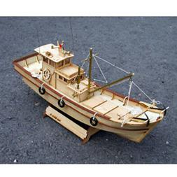 YoungModeler 1/25 Scale 7-Tonnage Korean Fishing Boat Deskto