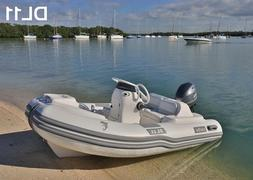 11' Caribe Inflatable Model:DL11- Dinghy Boat Fishing Tender