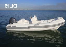 15' Caribe Inflatable DL15- Dinghy Boat Fishing Tender Rafti