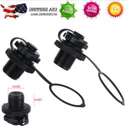 2pc Air Valve Cap Screw For Inflatable Boat Fishing Boats Ra