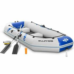 3 - 4 Person 10FT Inflatable Dinghy Boat Fishing Tender Raft