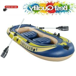 3-4 Person Inflatable Boat Kayak Inflatable Raft For Fishing