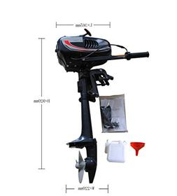 Sican 3.5HP Outboard Motor 2 Stroke Inflatable Fishing Boat
