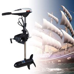 12V 45LBS Thrust Electric Trolling Motor Inflatable Boat Eng