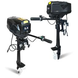 Techtongda 4HP 48V Electric Outboard Trolling Motor Fishing