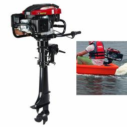 5100W 7HP 4Stroke Outboard Motor Engine Fishing Boat Air Coo