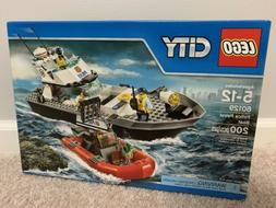 LEGO 60129 City Police Patrol Boat, NEW SEALED