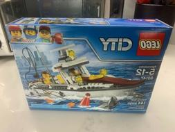 LEGO 60147 CITY Fishing Boat 144pcs New Free Shipping