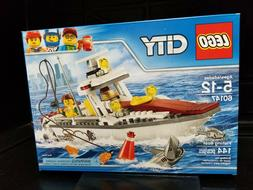 LEGO 60147 - CITY Fishing Boat - Brand New in Sealed Box