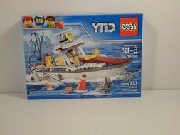 LEGO 60147 Fishing Boat City - New Sealed - Retired