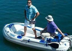 SEA EAGLE 9  INFLATABLE FISHING, DAY FUN, UTILITY BOAT WITH