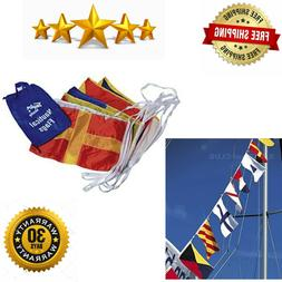 Taylor Made Products 93302 Decorative Code Boat Flag Set, 12