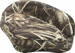Attwood 98505CA Casting Fishing Boat Seat, Camouflage Vinyl