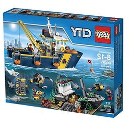 LEGO City Deep Sea Explorers 60095 Exploration Vessel Buildi