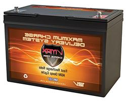 VMAX MR127 12 Volt 100Ah AGM Deep Cycle Maintenance Free Bat