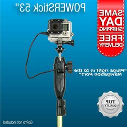 AquaStickPOWER by YOLOtek - Powered GoPro Mount for Boats  N