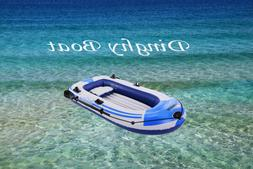 Blue 3-Person 8FT Leisure Inflatable Dinghy Boat Fishing Raf