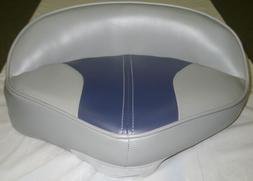 WISE BOAT SEAT PRO  BUTT PEDESTAL SEAT GRAY AND NAVY 7502-50