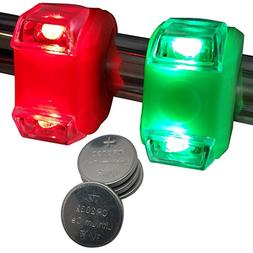 Bright Navigation Lights Eyes Green & Red Portable Marine LE