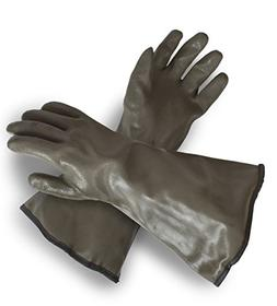 Brown Decoy Glove Long Covers Wrist Forearms Outdoor Gardeni