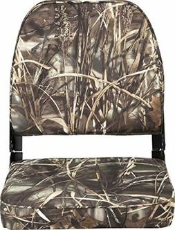 Camouflage High Back Boat Seats Folding Seat For Fishing Pon