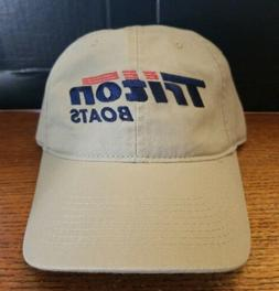 TRITON BOATS CAP BASS FISHING HATS HEADWEAR APPAREL NEW RARE