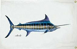 Taylor Made Products Carey Chen Blue Marlin 1922 Flag 36X60