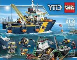 LEGO City 60095 Deep Sea Exploration Vessel Building Kit Bri