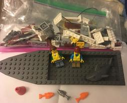 LEGO City 60147 Fishing Boat with Instructions. Perfect Cond