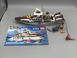 LEGO City 60147 Fishing Boat with Instructions
