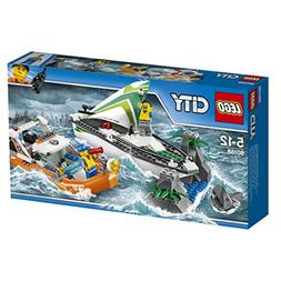 LEGO City 60168 Sailboat Rescue Building Toy With Boats That