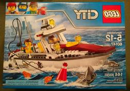 LEGO City Fishing Boat 2016 , brand new factory sealed never
