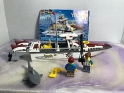 LEGO City Fishing Boat 2016  USED 99% Complete - with instru