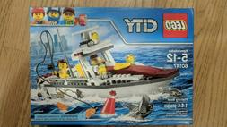 LEGO City Fishing Boat 60147, Brand New - Factory Sealed - R