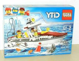 LEGO CITY FISHING BOAT #60147 NEW SEALED RETIRED   LETS GO F