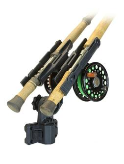 Folbe Clamp On Fly Rod Rack for your Raft Pontoon Drift Fish