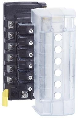 Blue Sea Systems ST CLB 6-Position Circuit Breaker Block
