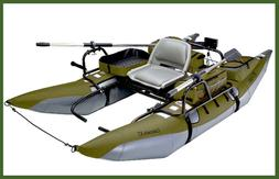 Classic Accessories Colorado XT Pontoon Fishing Boat, Sage/G