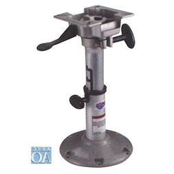 attwood 2385405 LakeSport 238 Series Seat Pedestal with Seat
