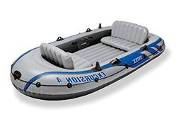 Intex Excursion 4 Boat Set - Old Model