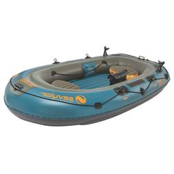 SEVYLOR FISH HUNTER 280 4-PERSON FISHING BOAT WITH BERKLEY R