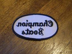 CHAMPION BOATS FISHING LURE PATCH  HUNTING
