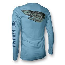 Performance Fishing Shirt Unisex Southern Fin UPF 50 Dri Fit