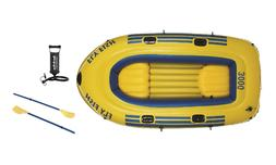 """Jilong Fly Fish 2-Person Inflatable Boat 8'3"""" with a Pump an"""
