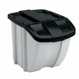 Food Storage Bin 50 Lbs Dog Pet Cat Animal 72 Quart Capacity