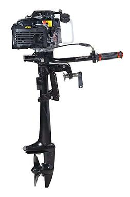 Four Stroke Air-Cooled 4 HP Outboard Motor Boats Fishing Boa