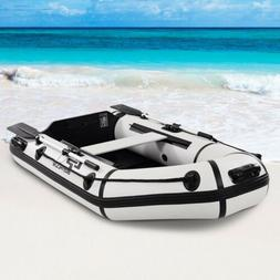 Goplus 2 Person 7.5 ft Inflatable Fishing Tender Rafting Din