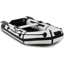 Goplus 2 Person 7.5FT Inflatable Dinghy Boat Fishing Tender
