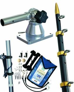 TACO Grand Slam 170 Outrigger Kit w/Black/Gold Outriggers, R