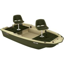 Green Pro 120 Fishing High Density Polyethylene Boat with Pa
